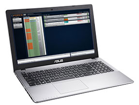 CAD dashboard laptop