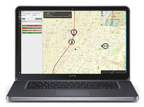 CAD map laptop
